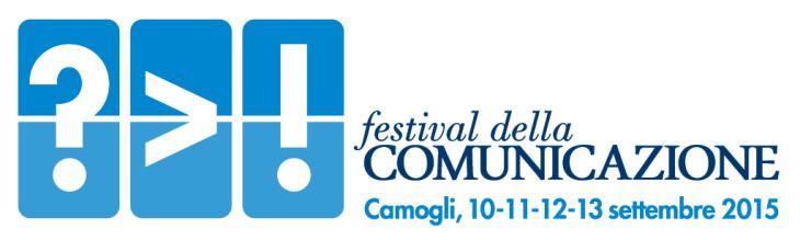 Logo Festival della Comunicazione Camogli 2015