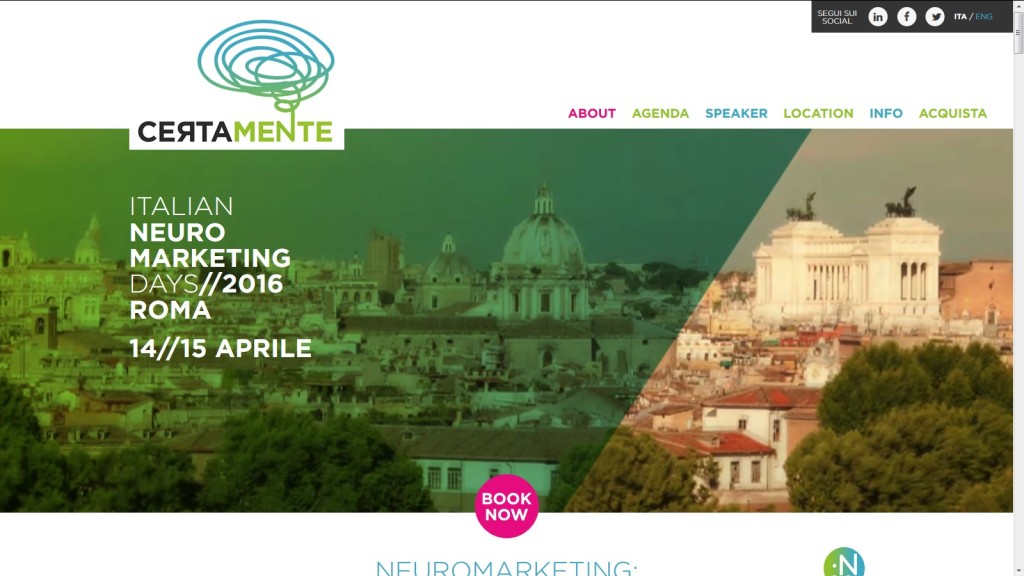 Certamente: un evento italiano dedicato al Neuromarketing