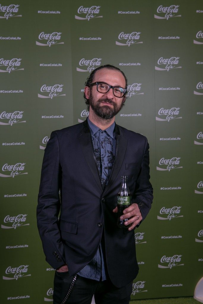 "Stefano Fontana evento Coca-Cola ""Taste the feeling"""