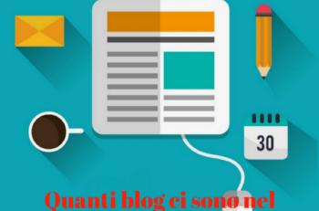 numero di blog nel mondo
