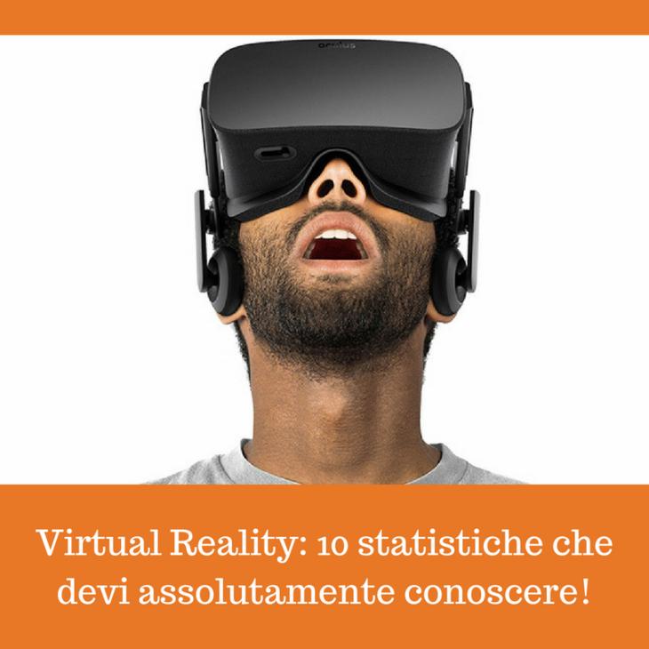 Virtual Reality statistiche