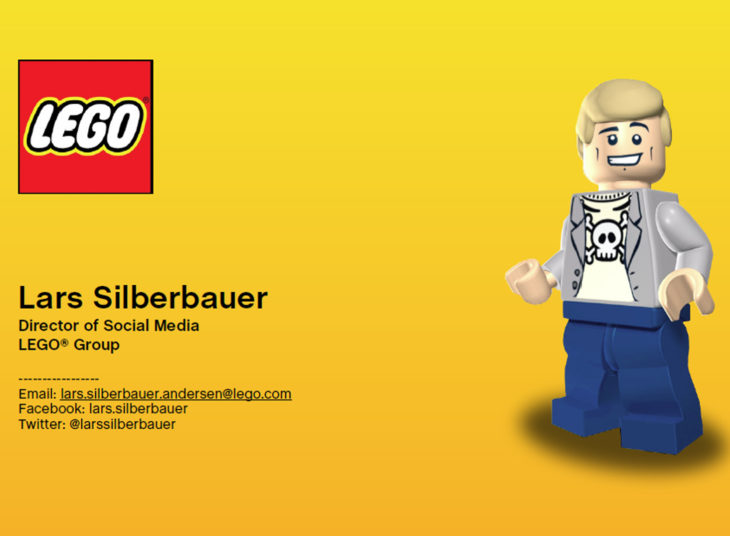 marketing lego