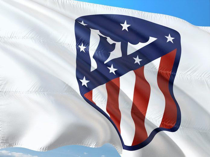 bandiera atletico madrid
