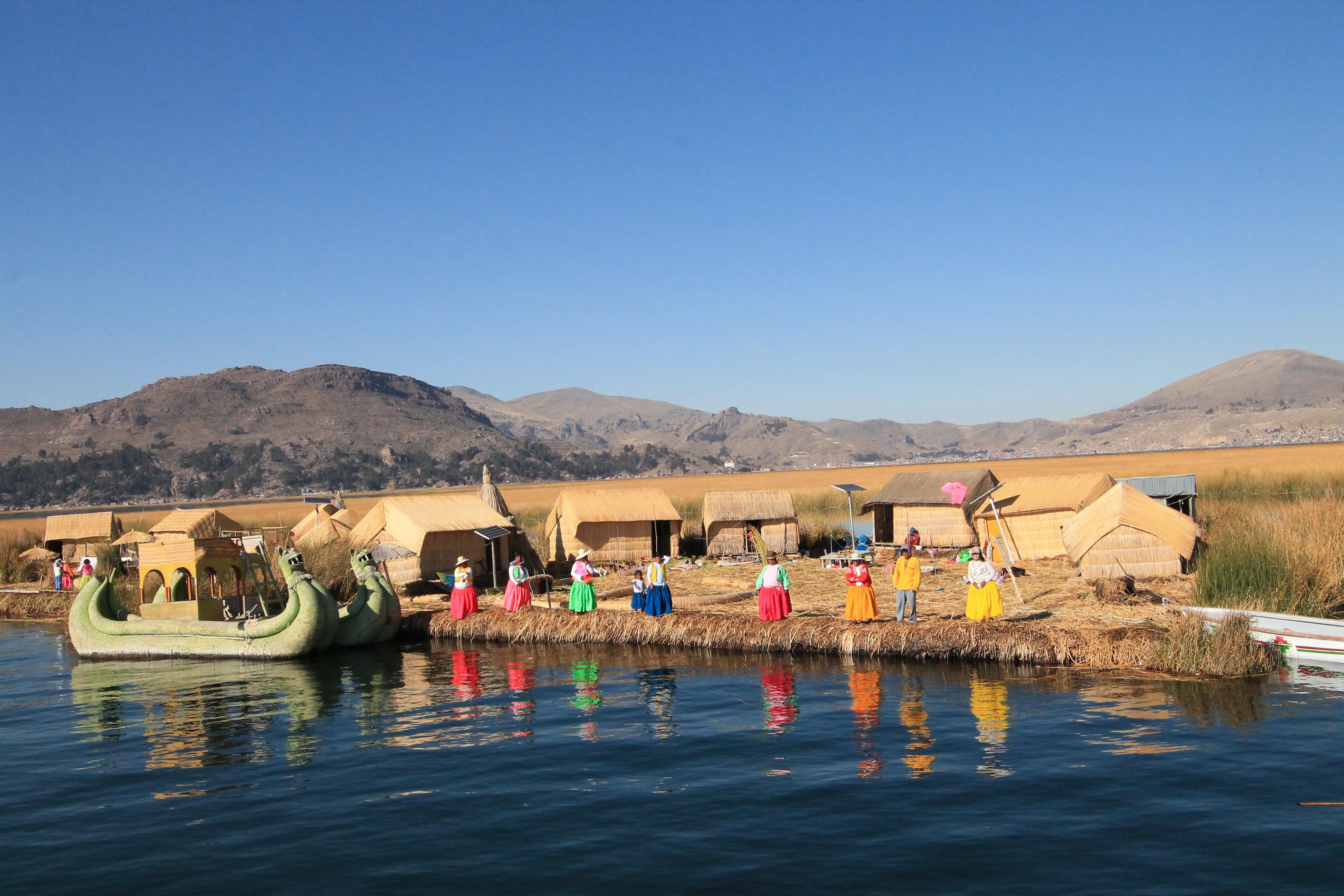 Lago Titicaca Perù