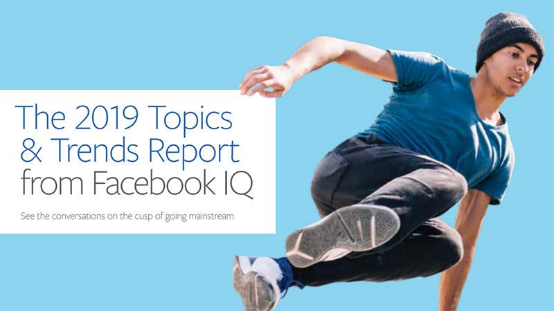 trend digital 2019 secondo Facebook