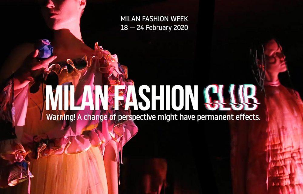 Milan Fashion Club 2020: l'evento che cambierà il mondo del Fashion System