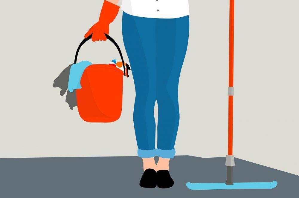 pulire casa propria
