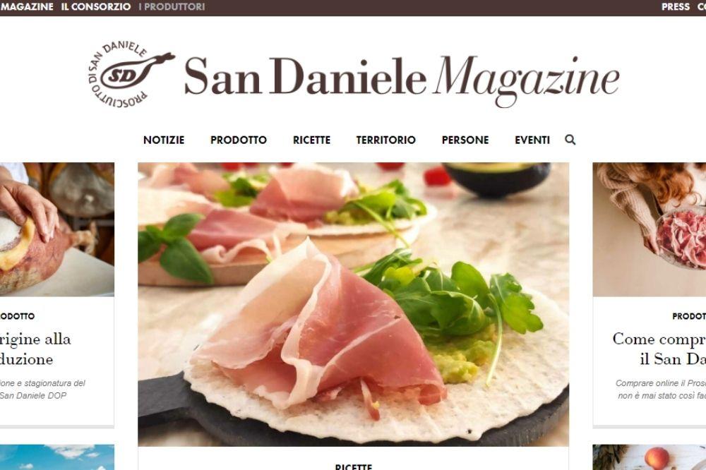 Storytelling Digitale Food: il caso Prosciutto di San Daniele