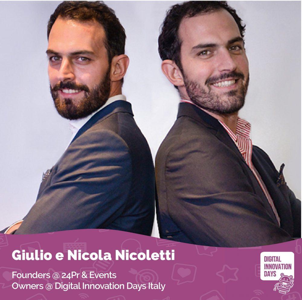 Nicola e Giulio Nicoletti