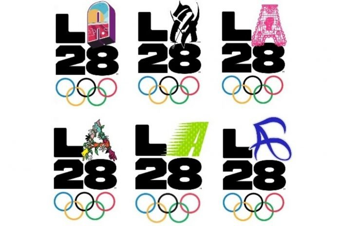 logo los angeles 2028