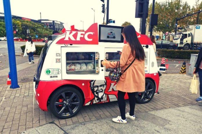 KFC veicolo 5g
