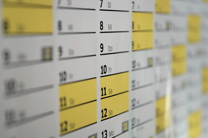 calendario di marketing