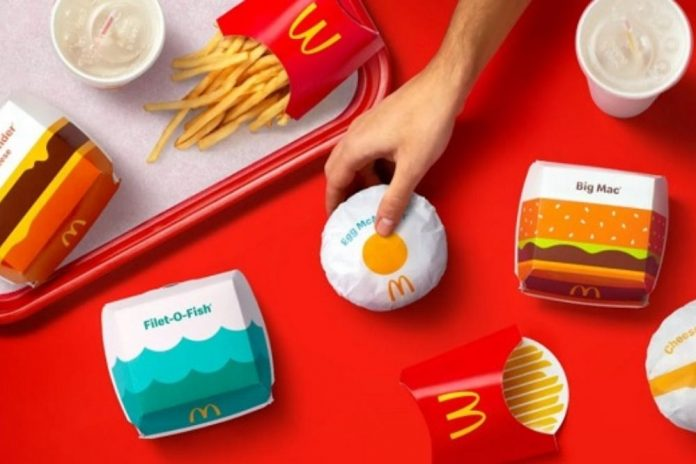packaging mcdonald's