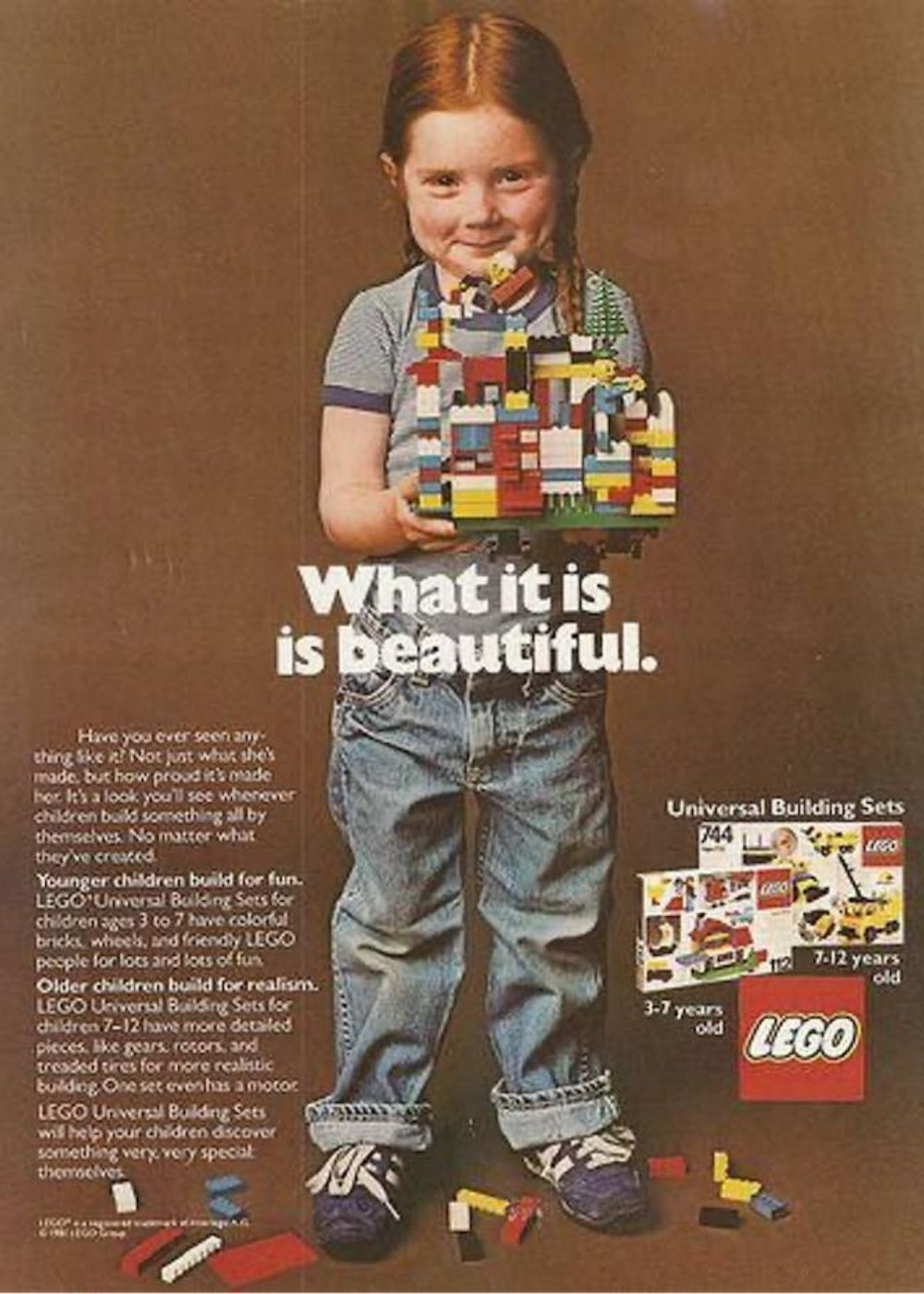 lego pubblicità 1981