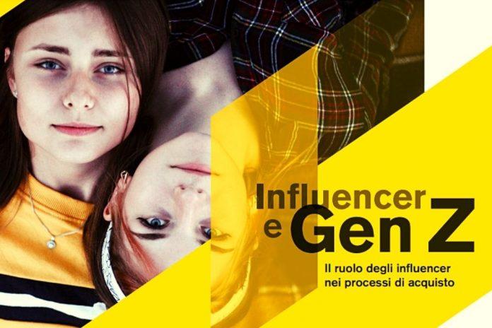 influencer e gen. z