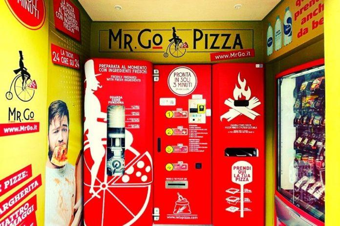 pizza robot roma