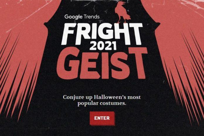 halloween google 2021 foto